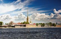 Peter and Paul Fortress, Saint Petersburg stock photo