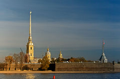 Peter and Paul Fortress. Saint-Petersburg. Stock Photo