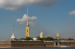 Peter and Paul fortress in Saint Petersburg Stock Photo