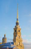 Peter and Paul fortress in Saint-Petersburg, Russia. Royalty Free Stock Photo