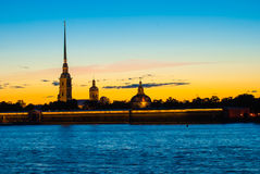 The Peter and Paul Fortress Royalty Free Stock Images