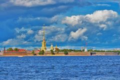 Peter&Paul Fortress Royalty Free Stock Photography