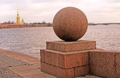 Peter and Paul fortress in Saint-Petersburg, Russia. Stock Photography
