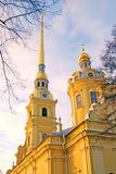 Peter and Paul fortress in Saint-Petersburg, Russia. Stock Photos