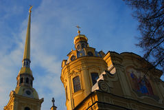 Peter and Paul fortress in Saint-Petersburg, Russia. Stock Photo