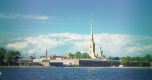 Peter and Paul Fortress, Saint Petersburg.Russia. Stock Images