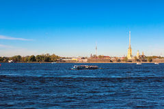 Peter and Paul Fortress. Saint-Petersburg. Russia Stock Images