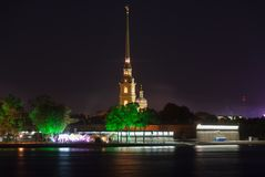 Peter and Paul Fortress - Saint-Petersburg, Russia Royalty Free Stock Images