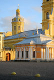 Peter and Paul fortress in Saint-Petersburg, Russia. Royalty Free Stock Photos