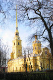 Peter and Paul fortress in Saint-Petersburg, Russia. Stock Images
