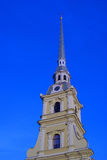 Peter and Paul fortress in Saint-Petersburg, Russia. Royalty Free Stock Photography