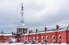 Peter and Paul Fortress in Saint-Petersburg Stock Photography