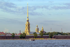 Peter and Paul Fortress, Saint Petersburg Stock Images