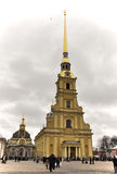 The Peter and Paul fortress, St. Peterburg, Russia Stock Image