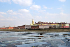 Peter and Paul Fortress. St. Petersburg Stock Image