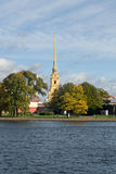 Peter and Paul Fortress St.Petersburg Royalty Free Stock Photos