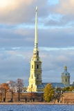 The Peter and Paul Fortress, St. Petersburg. Royalty Free Stock Image