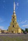Peter and Paul Fortress in St. Petersburg Stock Photography
