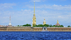 Peter and Paul Fortress, St. Petersburg Stock Photos