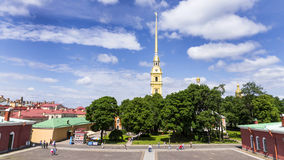 Peter and Paul Fortress, St. Petersburg Stock Images