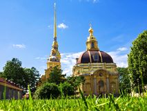 Peter and Paul Fortress in St. Petersburg Royalty Free Stock Images