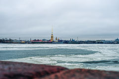 Peter and Paul Fortress Royalty Free Stock Photo