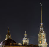 Peter and Paul Fortress in St. Petersburg Stock Images