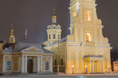 Peter and Paul Fortress in St. Petersburg Royalty Free Stock Photo