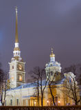 Peter and Paul Fortress in St. Petersburg Royalty Free Stock Image