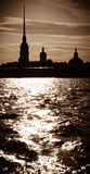 Peter and Paul Fortress in St Petersburg, Russia Royalty Free Stock Photo
