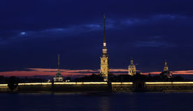 Peter and Paul Fortress, St. Petersburg, Russia Royalty Free Stock Photography
