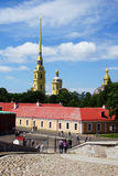 Peter and Paul Fortress. St. Petersburg, Russia Stock Images