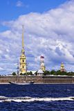 Peter and Paul Fortress, St. Petersburg, Russia Royalty Free Stock Photo