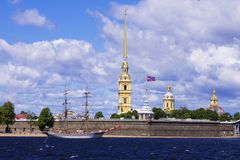 Peter and Paul Fortress, St. Petersburg, Russia Royalty Free Stock Images