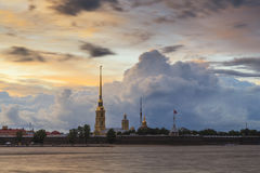 Peter and Paul Fortress. St. Petersburg. Royalty Free Stock Photos