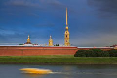 Peter and Paul Fortress. St. Petersburg. Stock Photos