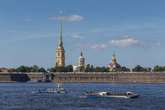 The Peter and Paul Fortress Stock Photos