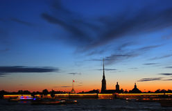 The Peter and Paul Fortress, St. Petersburg, Russi Royalty Free Stock Images