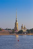 The Peter and Paul Fortress, St. Petersburg, Russia Stock Image