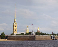 Peter and Paul Fortress in St. Petersburg, Russia. Royalty Free Stock Photos
