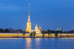 Peter and Paul Fortress at St.Petersburg, Russia Stock Photography