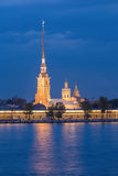 Peter and Paul Fortress at St.Petersburg, Russia Royalty Free Stock Images