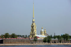 Peter and Paul fortress, St. Petersburg, Russia Stock Images