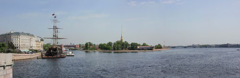 Peter and Paul fortress, St. Petersburg, Russia Stock Photography