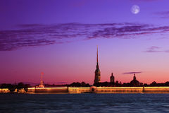 Peter and Paul Fortress, St. Petersburg, Russia Royalty Free Stock Image