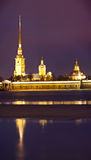 Peter and Paul fortress, St. Petersburg, Russia Stock Photos