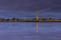 Peter and Paul fortress, St. Petersburg ,Russia Stock Photography