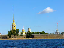 The Peter and Paul Fortress in St. Petersburg Stock Photo