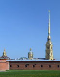 Peter and Paul's Fortress Stock Photography