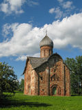 Peter and Pavel church. Medieval church in Novgorod, Russia Stock Photos